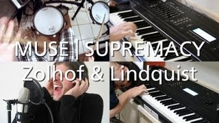 Muse - Supremacy | Split-Screen Cover | Zolhof & Lindquist