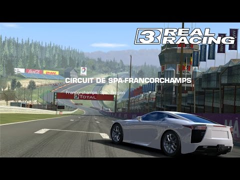 [Lexus LFA - Spa Fracorchamps] Real Racing 3 IOS Gameplay [1080p / FullHD]