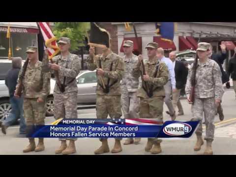 Memorial Day parade in Concord honors fallen service members