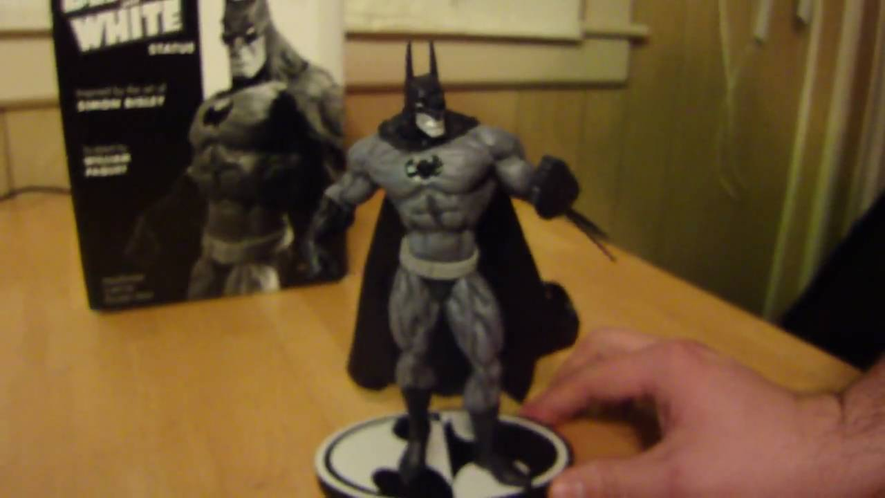 Statue Bisley The Based Of Batman Black Youtube Simon Art And On White yv7bfgY6