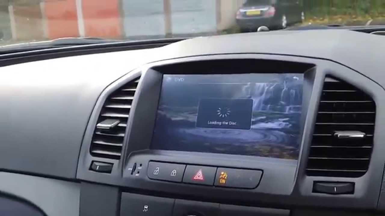 Insignia Opel Aftermarket Head Sat Nav Display Youtube
