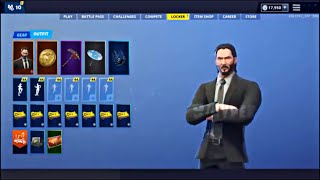 NOUVEAU JON WICK REVIENT À FORTNITE ! FILTRATIONS SKINS FORTNITE