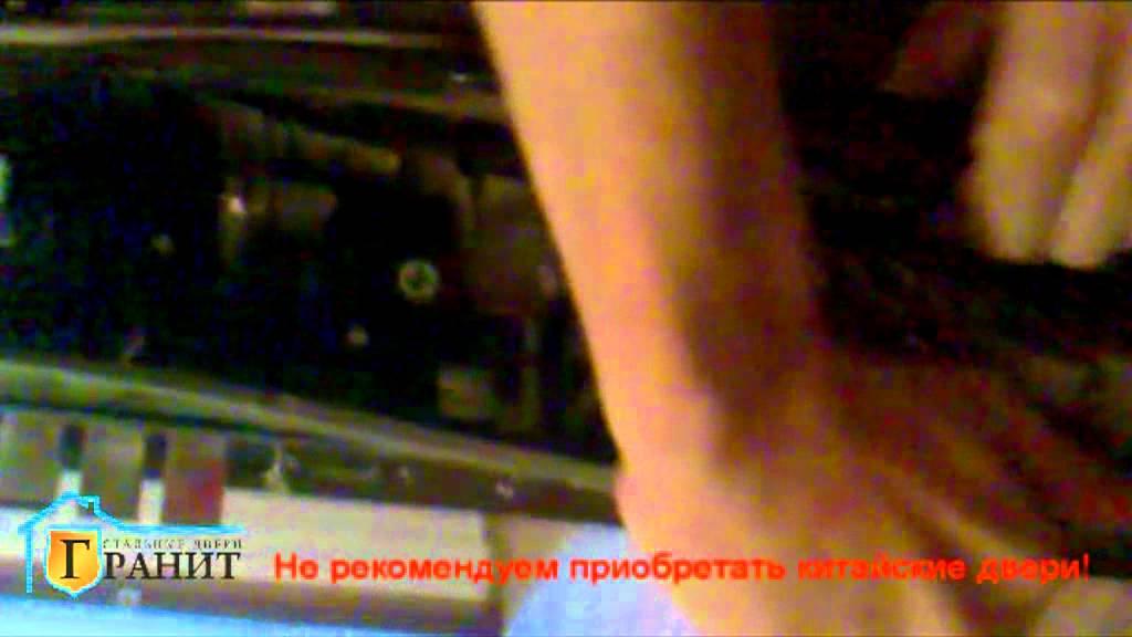 Ремонт входной металлической двери - YouTube