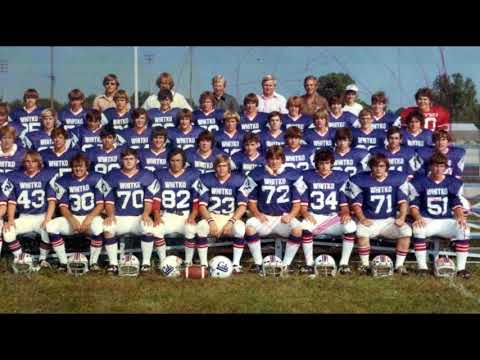 Whitko High School Football  TRC in the beginning 1970s