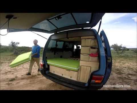 vantravllers.com - Camper Van Bed DIY / Self CAMPER CONVERTION - GET YOUR EBOOK NOW