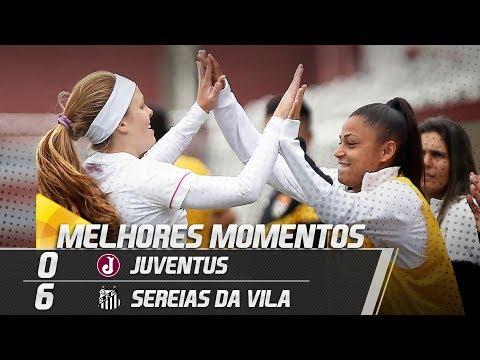 Juventus 0 x 6 Sereias da Vila | MELHORES MOMENTOS | Paulistão (16/06/18)