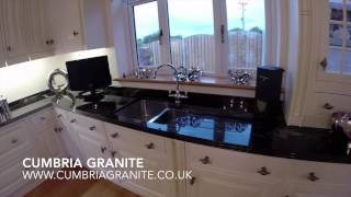 Cumbria Granite - Cosmic Black Granite