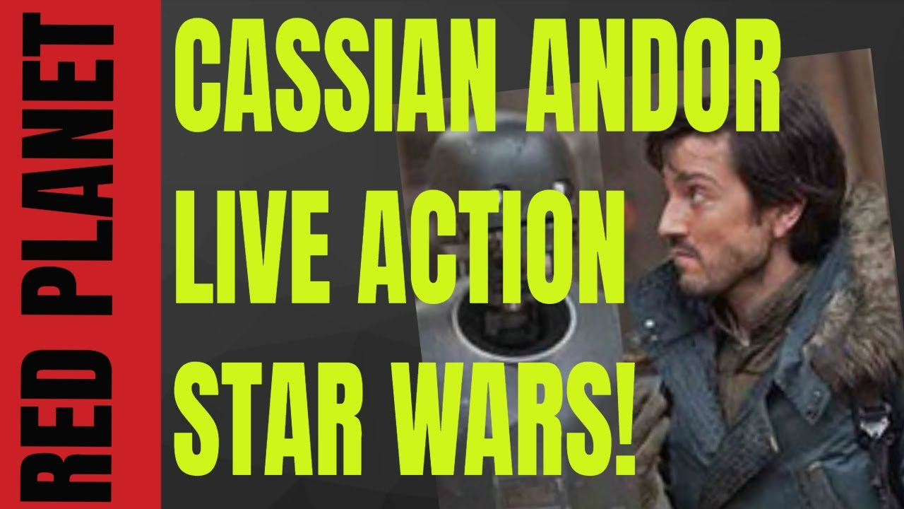 BREAKING NEWS: STAR WARS Cassian Andor Live Action Series