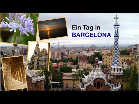 Ein Tag in Barcelona - Kreuzfahrt mit AIDAblu 2015