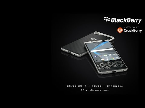 BlackBerry Mobile Livestream from Mobile World Congress 17