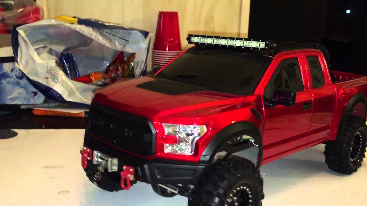 new bright 2017 ford raptor build on scx 10 doovi. Black Bedroom Furniture Sets. Home Design Ideas