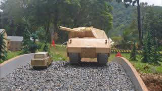 The Making of 1:16 wooden RC Maus