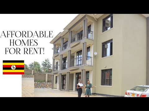 RENT In UGANDA! Newly Built  Furnished Apartments//Cost of living In Africa!