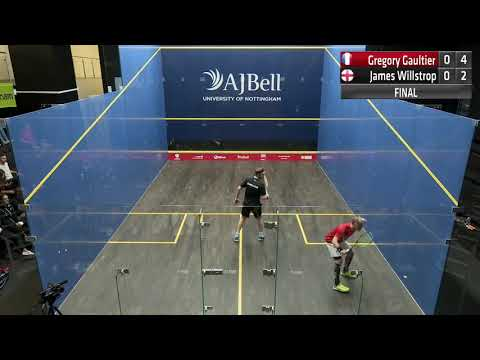 Gregory Gaultier FRA Vs  James Willstrop ENG (Unsquashable)