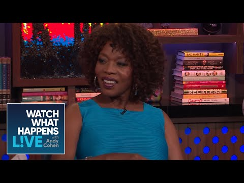 Has Alfre Woodard Slashed Someone's Tires?  WWHL