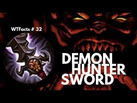 DEMON HUNTER SWORD (FALLEN SWORD)   WTFacts # 32   Mobile Legends