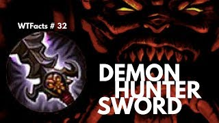 DEMON HUNTER SWORD (FALLEN SWORD) | WTFacts # 32 | Mobile Legends