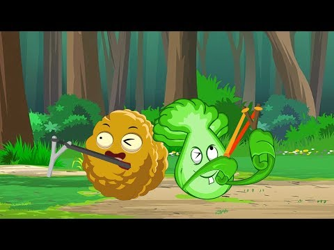 Plants vs. Zombies Animation : Play the slingshot