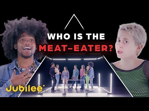 6 Vegans vs 1 Secret Meat Eater