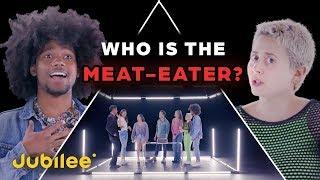 6 Veganlar vs 1 Gizli Et Yiyen