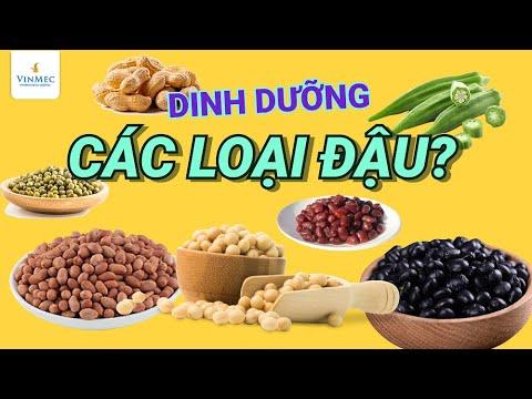 Giá trị dinh dưỡng của các loại đậu