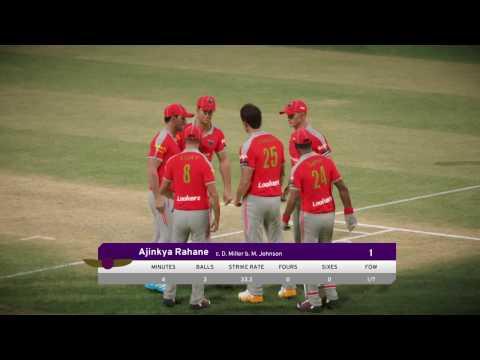 Don Bradman Cricket 17 | IPL | Kings XI Punjab Vs Rising Pune Supergiants | PS4 | XBOX | PC