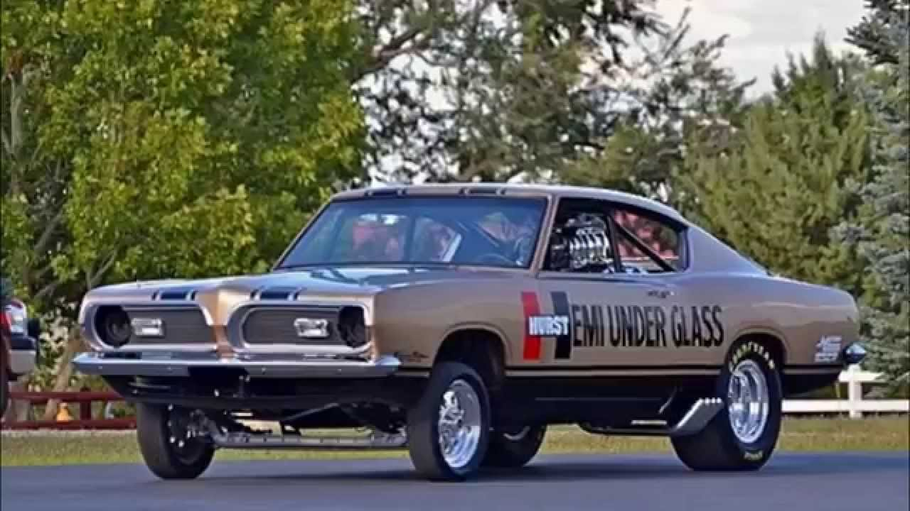 1969 Plymouth Barracuda Hurst Hemi Under Glass Collection - YouTube