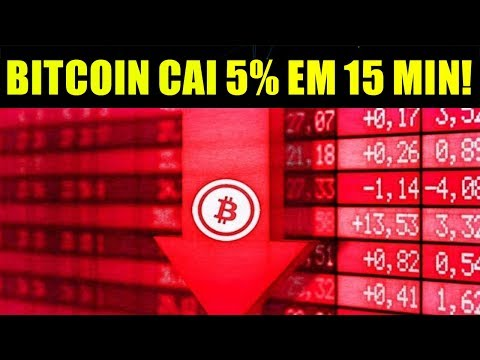 Bitcoin Cai 5% Em 15Min ! Quais As Possibilidades?