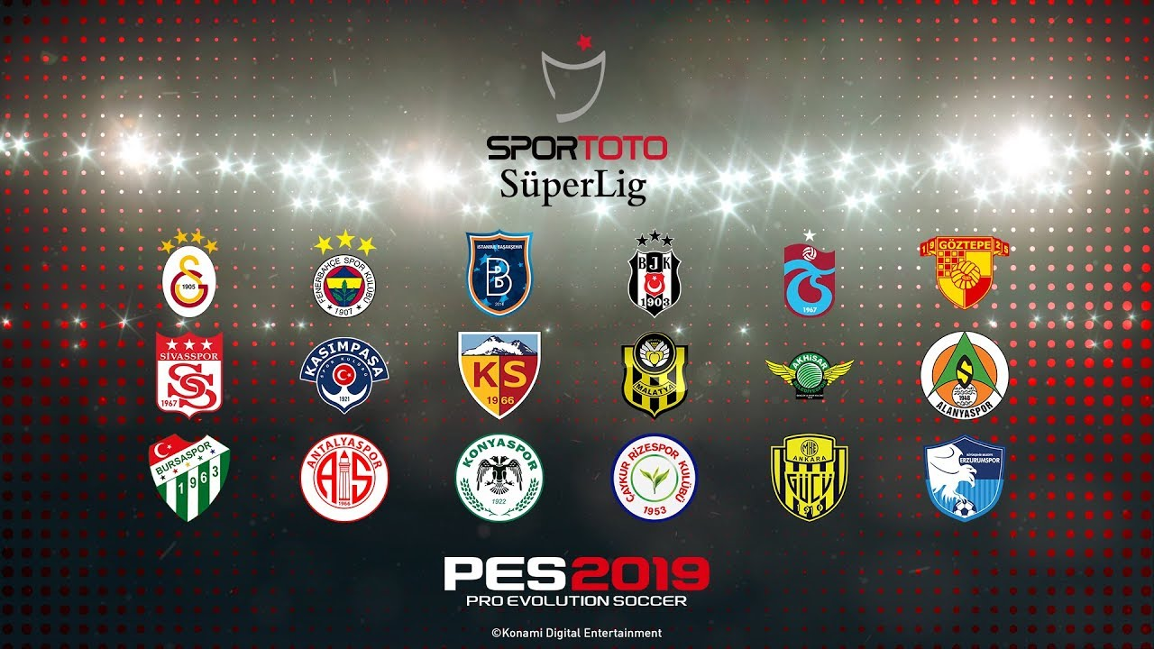 b23c112b PES 2019 - Turkish Süper Lig Trailer - YouTube