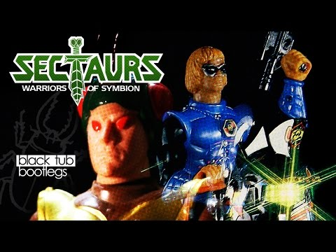 Black Tub Bootlegs -E24- Sectaurs Bootleg Toys - Lord of Insects - Insect Man - Guardian Patrol