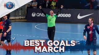 Best Goals - March : Thierry Omeyer stops the ball and scores
