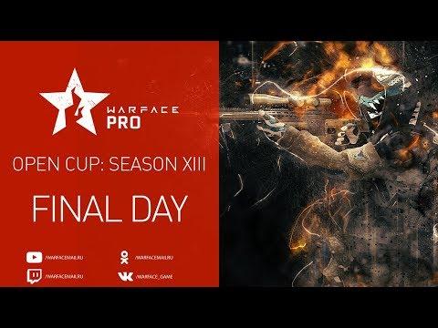 Open Cup: Season XIII Pro League. Final Day