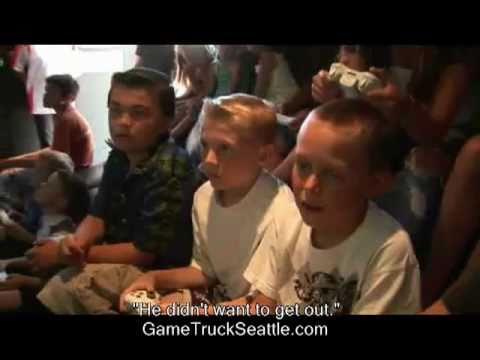 Birthday Party Ideas Kids Teens GameTruck Seattle