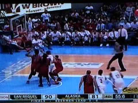 Last 2 Minutes, Championship Game of San Miguel Beer 2015