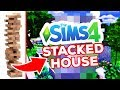 BUILDING A STACKED HOUSE - The Sims 4