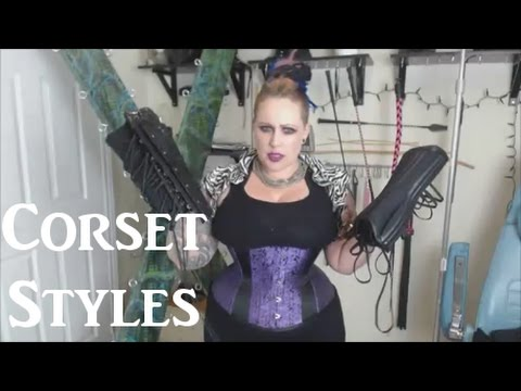 👗 Corset Styles ⏳ & Real Corset vs Fashion Corset - All About Corsets #1