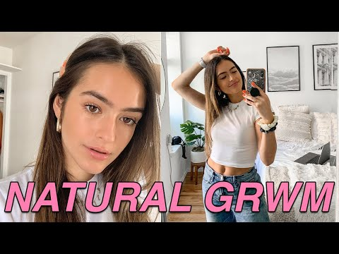 Natural No Makeup Look  + Feeling Confident in Your Own Skin thumbnail