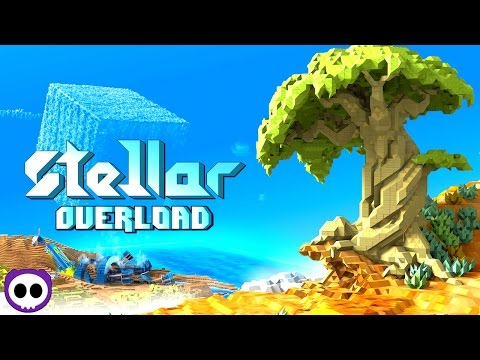 BEST VOXEL GAME TO DATE!? ✪ Stellar Overload Early Access Gameplay   Scythe Plays