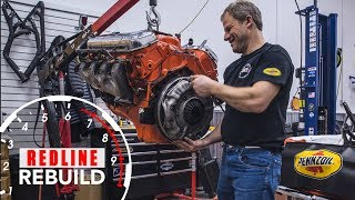 Chevy big block 396 complete rebuild time-lapse | Redline Rebuilds - S3E2