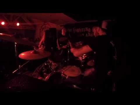 """WOUND - """"Babylon"""" Gregory Allum GoPro Drum Cam"""