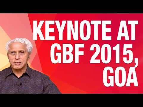 Dr. Romesh Wadhwani at GBF 2015 on Key Problems of Job Creat