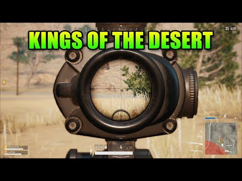 Kings Of The Desert! | PlayerUnknown's Battlegrounds Desert Map Duos
