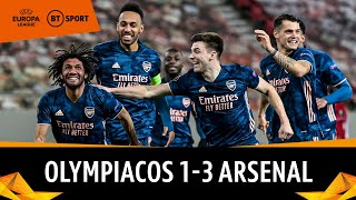 Olympiacos vs Arsenal (1-3) | Odegaard stars as Gunners assume control | Europa League Highlights