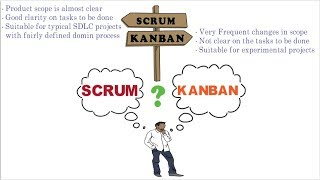 Agile SCRUM vs KANBAN | Comparison | Process Overview | Which is good for project