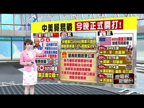 """十點上新聞》關稅戰""""北京大反擊"""" 6/1起對600億美元商品加稅"""