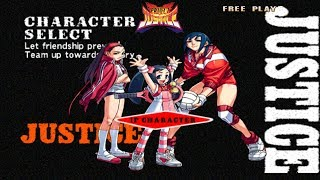 Project Justice Momo, Chairperson and Natsu Playtrough