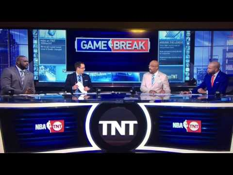 HILARIOUS NBA STUDIO ANALYST FAIL