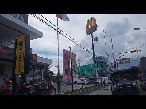 Jalan Di Kota Gorontalo    Suasana Siang Hari