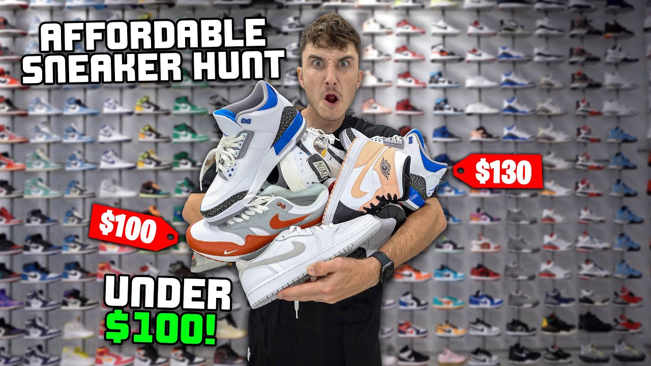 Most Affordable Sneakers You NEED In Your Collection… ASAP