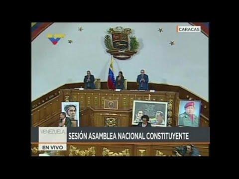 La constituyente venezolana despoja de sus poderes a la Asamblea Nacional